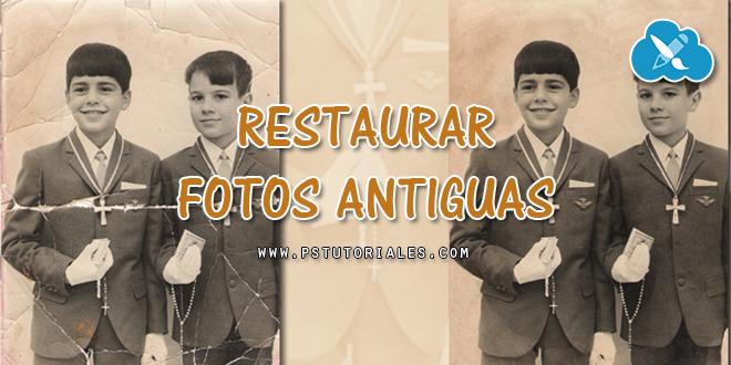 Reparar una foto vieja - Tutorial de Photoshop - Imágenes ...