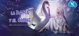 La dama y el cisne – Photoshop manipulation
